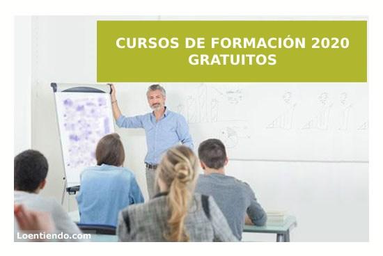 Cursos gratuitos de formación 2020