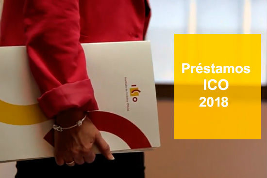 Préstamos ICO 2018 para emprendedores