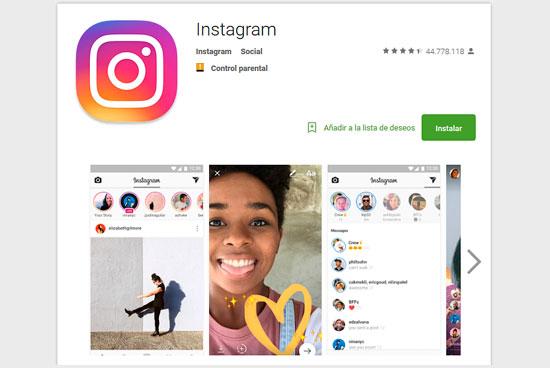 Instagram y el empleo
