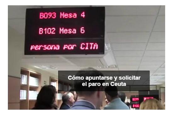 Cómo apuntarse y pedir el paro en Ceuta
