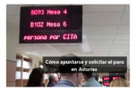 Apuntarse y solicitar el paro en Asturias