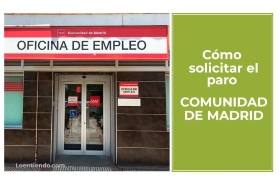 Cómo pedir el paro en la Comunidad de Madrid