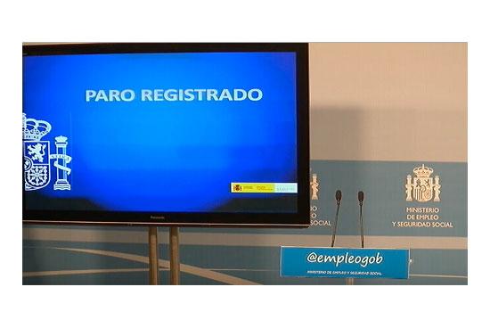 Datos del paro en España