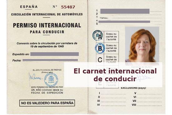 El carnet de conducir internacional