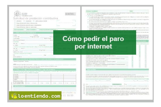 Cómo pedir el paro por internet