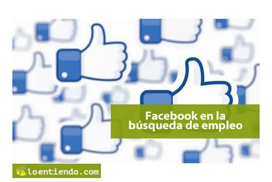Facebook en la búsqueda de empleo