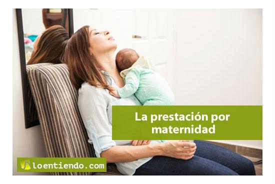La prestación por maternidad