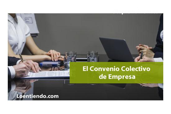 Los convenios colectivos de empresa laboral 2018 for Fuera de convenio 2018