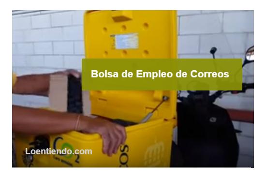 Bolsa de empleo de Correos 2017