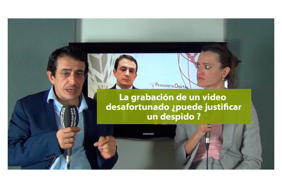 Despedidos por un video desafortunado
