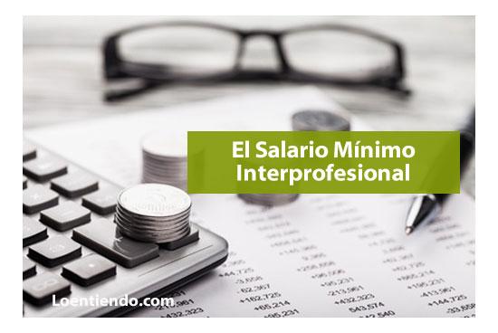 El Salario Mínimo Interprofesional