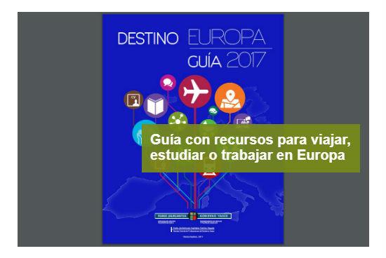 Guía destino Europa 2017