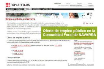 Empleo Público en Navarra