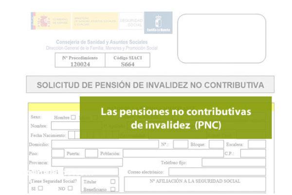 Las pensiones no contributivas de invalidez ¿a quién protegen?