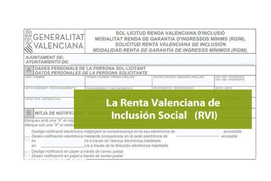 La Renta Valenciana de Inclusión Social