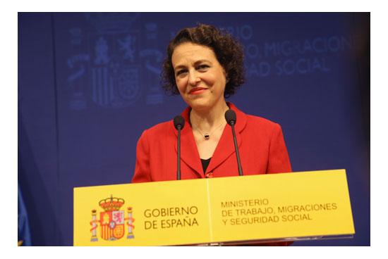 Nueva Ministra de Trabajo Magdalena Valerio