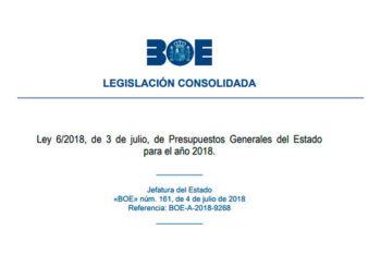 Ley de Presupuestos Generales del Estado 208