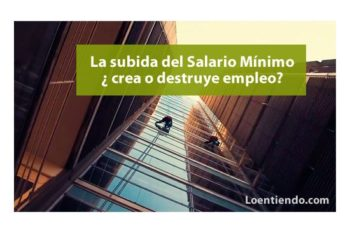 Subida SMI crea o destruye empleo