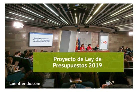 Proyecto de ley de presupuestos 2019