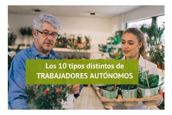 10 clases de trabajadores autonomos