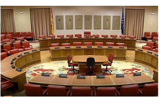 Sala de reunión de la Diputación Permanente