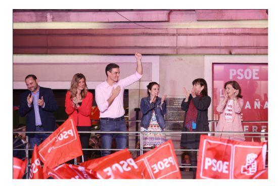 El Partido Socialista gana las elecciones generales 2019