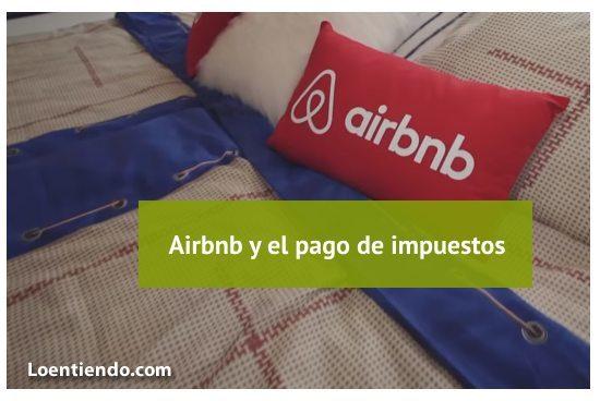 El pago de impuestos en la plataforma de Airbnb