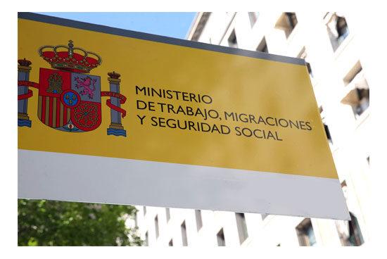 Sede central del ministerio de trabajo, migraciones y seguridad social