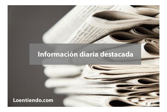 Selección de noticias de prensa diaria