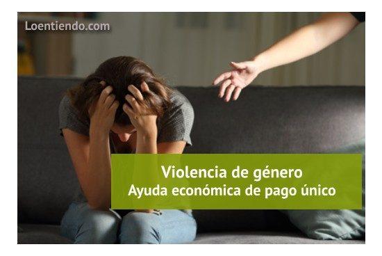 Mujer víctima de violencia de género