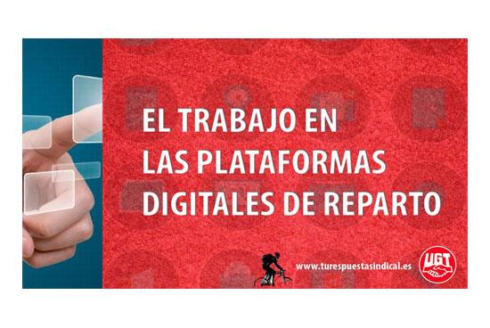 Informe UGT Plataformas Digitales de Reparto