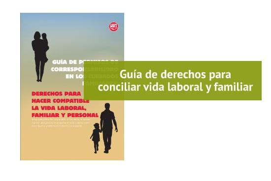 Guía de derechos de conciliación de vida laboral y familiar