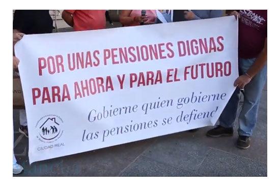 Plataformas en defensa de las pensiones