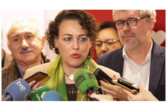 Magdalena Valerio, ministra de Trabajo, anuncia revalorización de pensiones según IPC