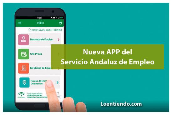 App del Servicio Andaluz de Empleo
