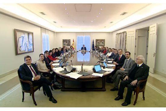 Consejo de Ministros del 14 de enero de 2020