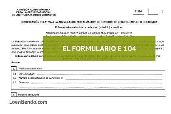 formulario e 104