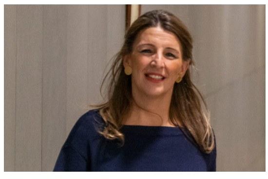 Yolanda Díaz nueva ministra de Trabajo