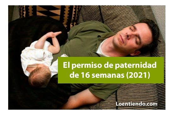 Permiso de paternidad de 16 semanas
