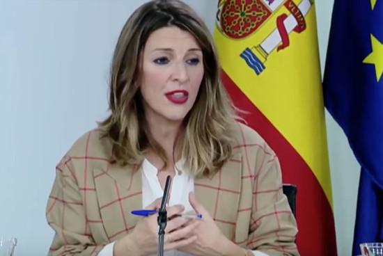 Yolanda Díaz Consejo de MInistros