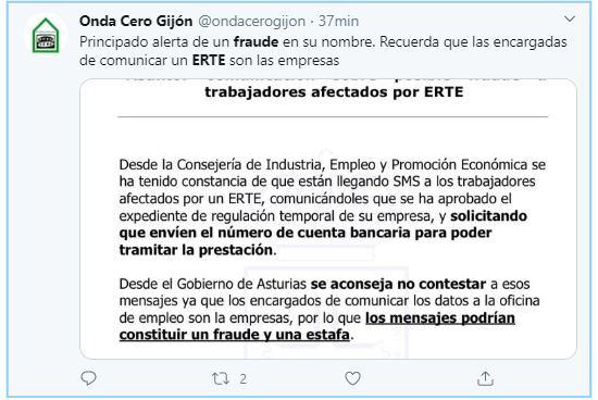 Alerta fraude ERES en Asturias