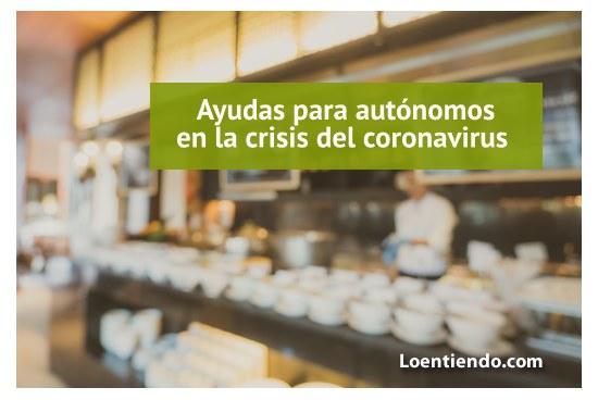 Ayudas autónomos crisis coronavirus