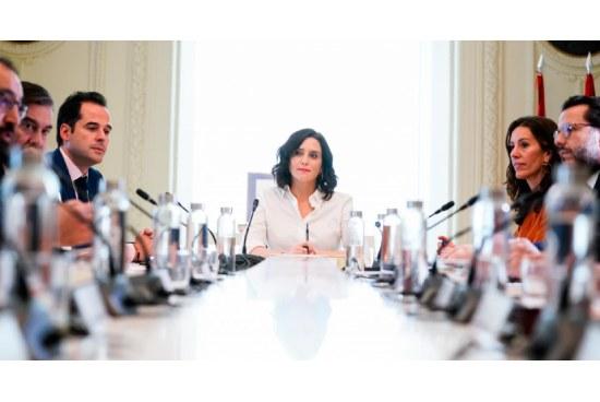 Consejo extraordinario Comunidad de Madrid, 9 de marzo de 2020