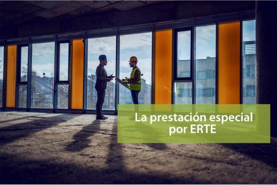 La prestación especial por ERTE