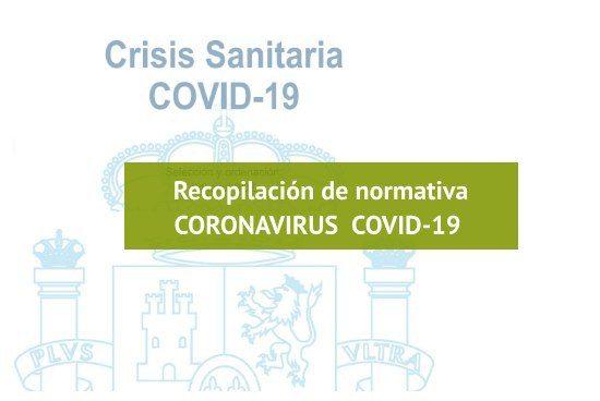 Recopilatorio legislación sobre el COVID-19