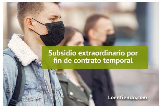 Subsidio por fin de contrato temporal