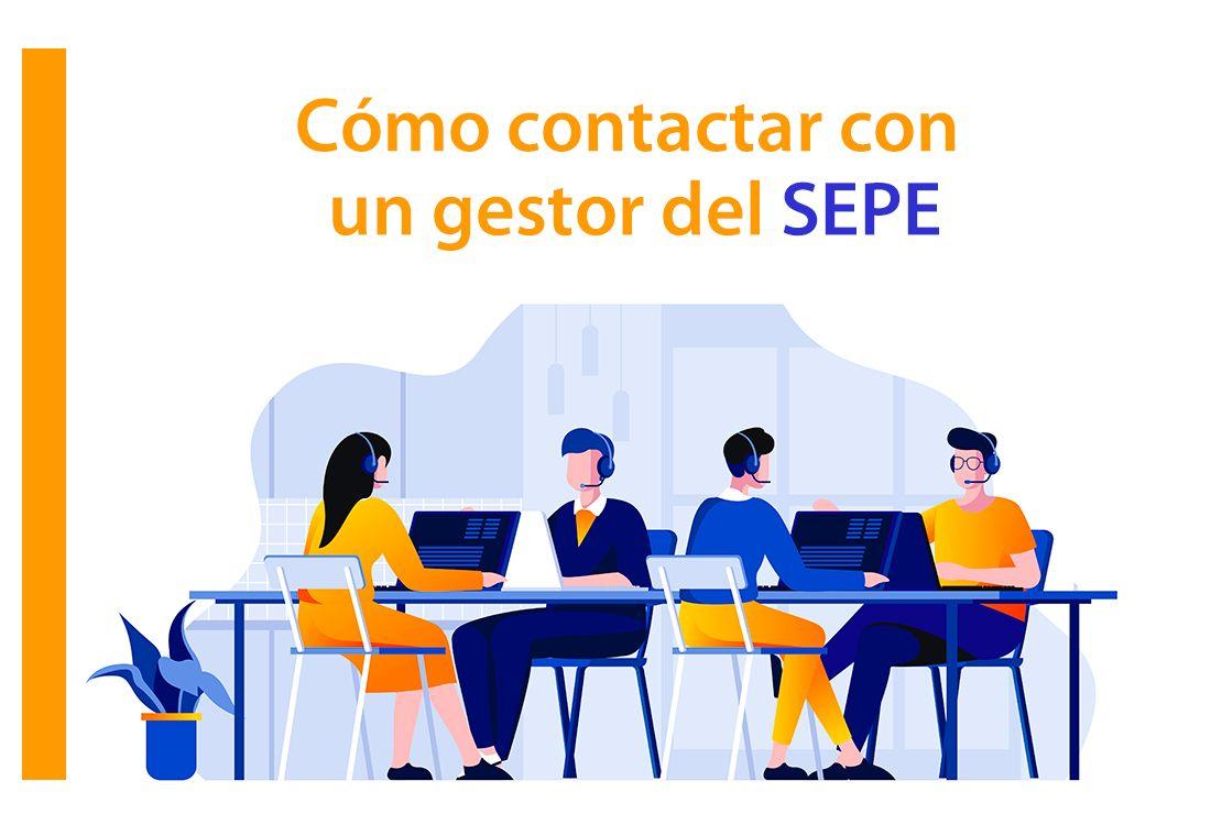 Cómo contactar con un gestor del SEPE