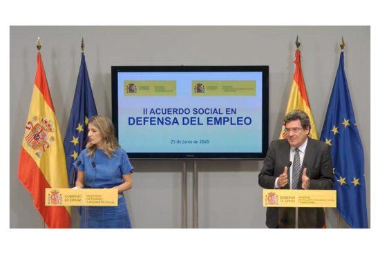 Alcanzado el acuerdo para la prórroga de los ERTE
