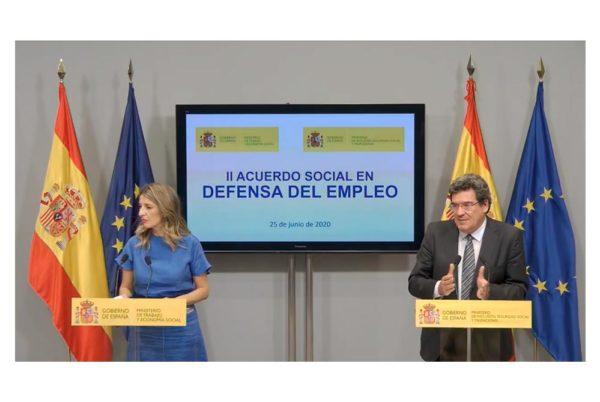 Los ERTE y su protección por desempleo se prorrogan hasta el 30 de septiembre