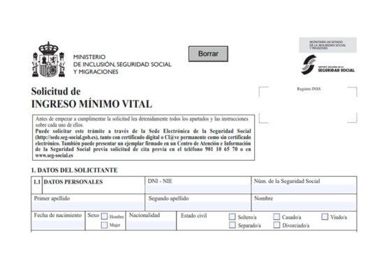 Documentación en las solicitudes del Ingreso Mínimo Vital